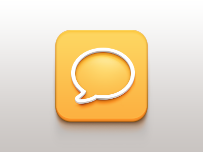 Messenger Mobile Icon App Icon Design Iphone Icon