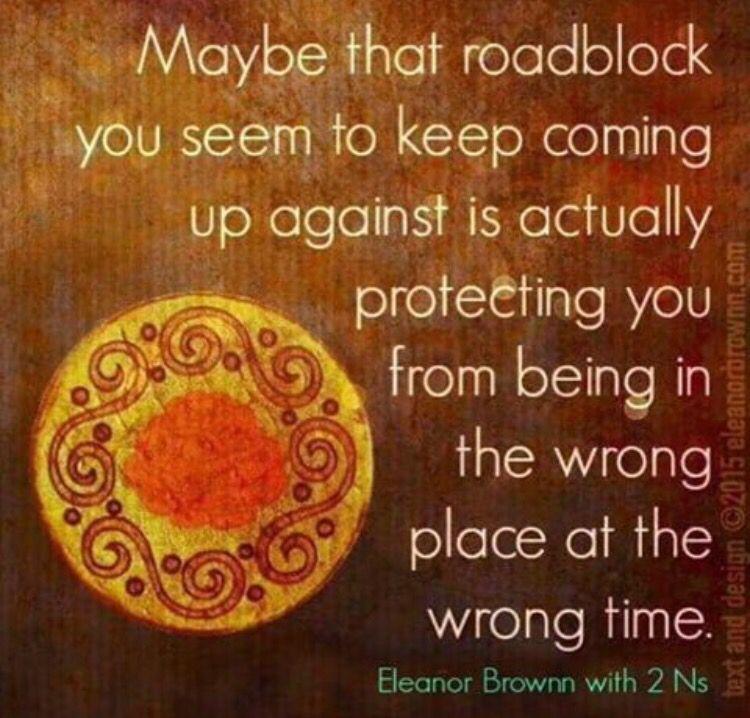 Roadblock quote