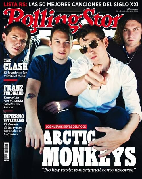 """Effing cool cover. Doesn't Helders remind us of Turner in """"R U Mine?"""" video? if you know what I mean haha"""