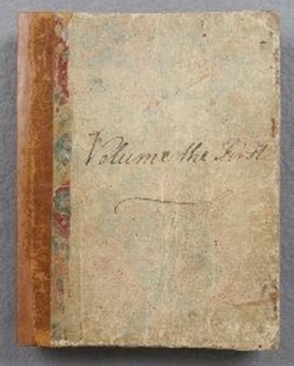 Jane Austen Volume The First Of Austens Juvenilia Manuscripts Which