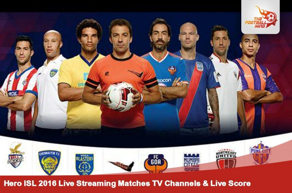 ISL 2017 live Streaming, Schedule & Fixture - Indian Super ...