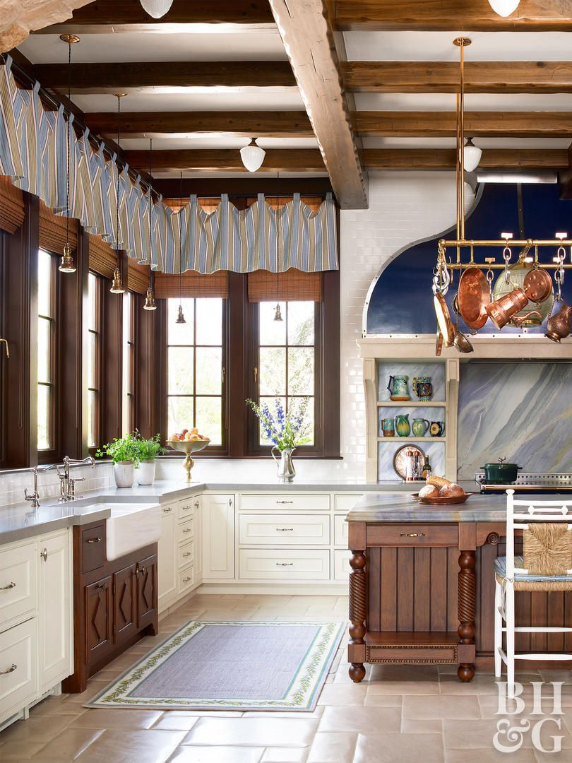 Rustic kitchen window treatments  rustic window treatment ideas