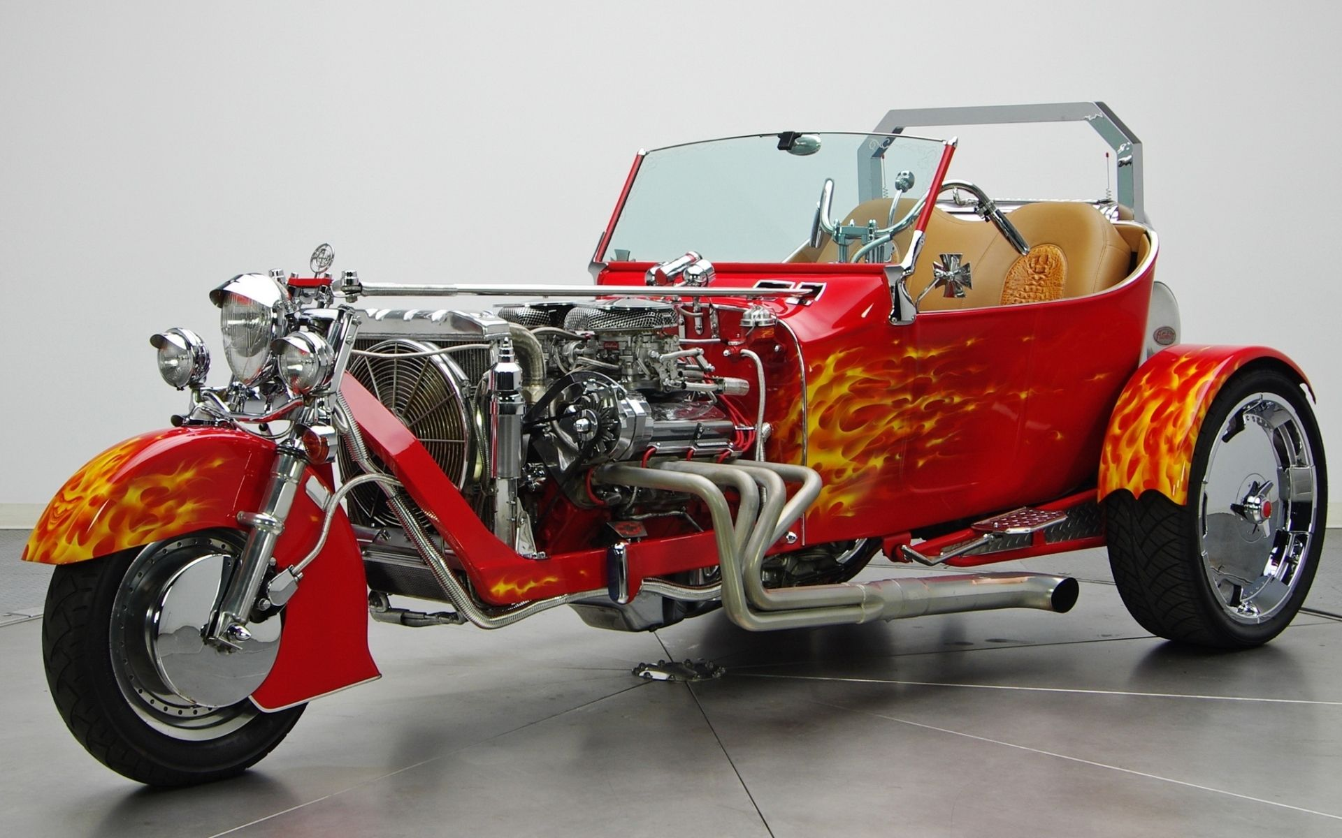 vehicles - hot rod - ford t-bucket trike wallpaper | hot rods