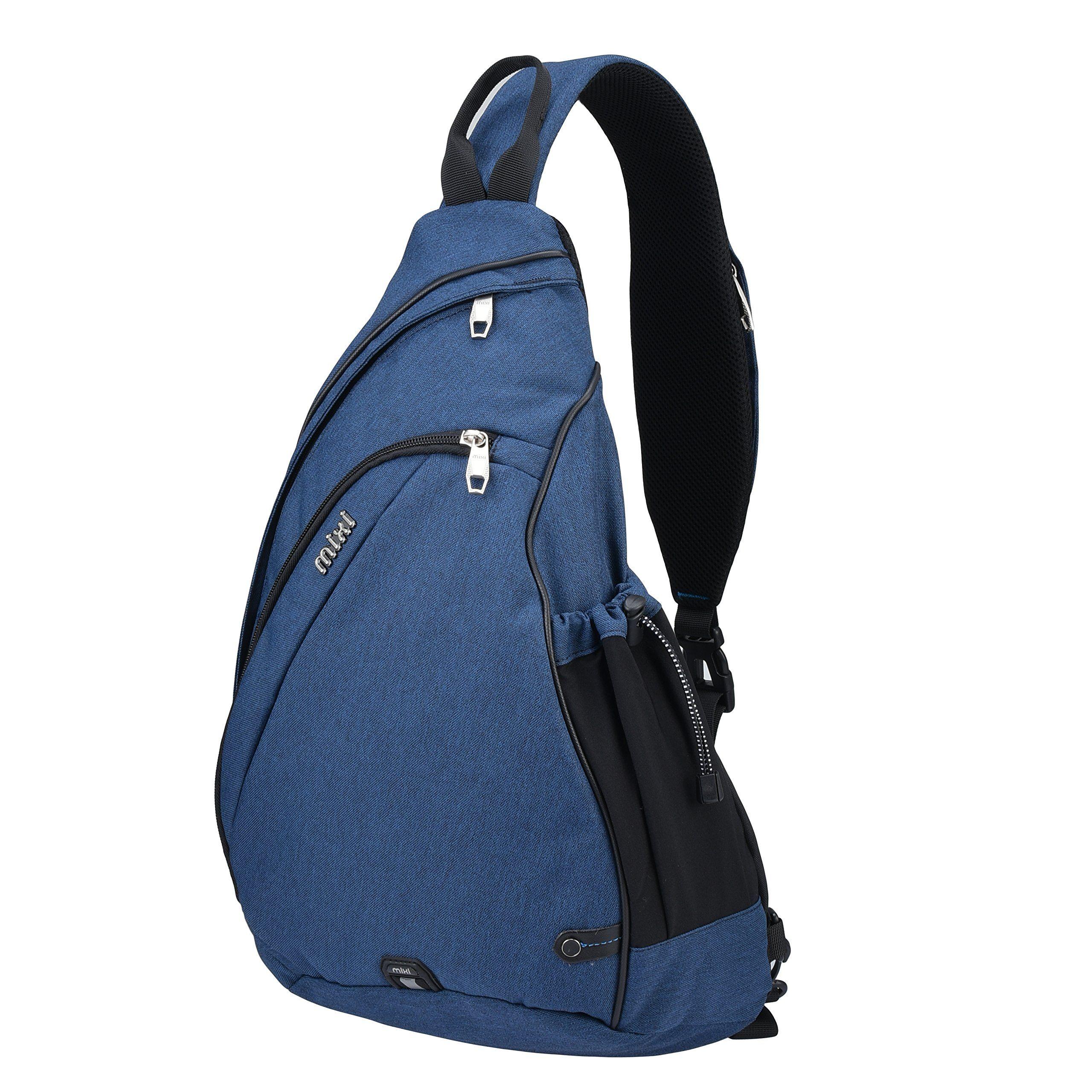 fdddb1b817 Mixi Sling Bag Shoulder Backpack CrossBody Chest Bags Cycling Travel
