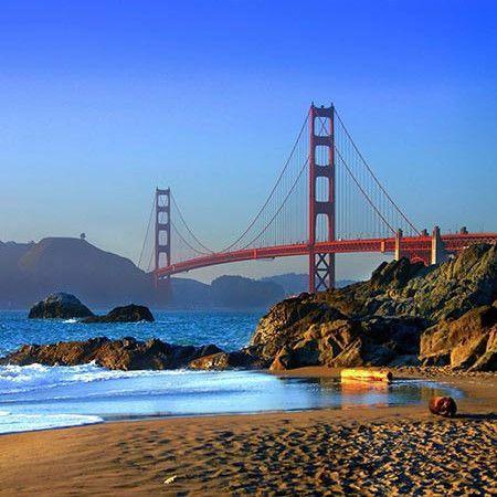 x059 Beach San Francisco Backdrop