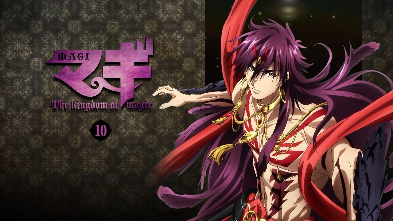 A-1 Pictures, MAGI: The Labyrinth of Magic, Sinbad, Focalor, 1280x720 Wallpaper, Djinn Equip