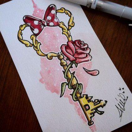 Tattoo disney castle ink 68+ Ideas
