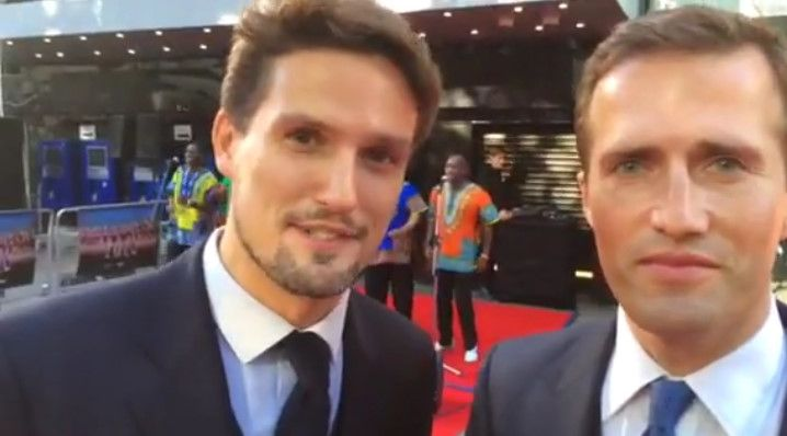 This is so very cool and exciting guys!!! BLAKE Join us on the red carpet for tonight's 50th anniversary screening of film classic 'Zulu' at Leicester Square - we're about to sing to the 3000 people inside, and Prince Harry :) https://www.facebook.com/photo.php?v=10152579326185466