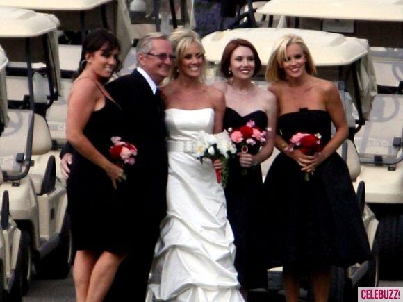 Jenny Mccarthy Bridesmaid Bridesmaid Dresses Celebrity Weddings