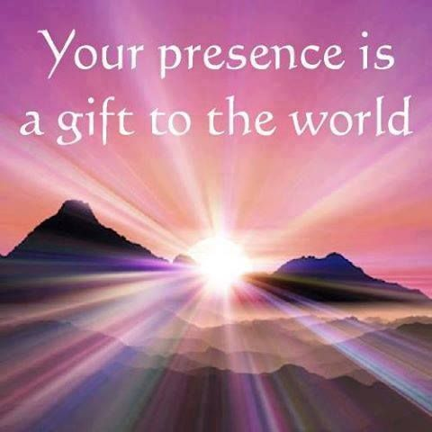 Your presence is a gift to the world | Be Yourself - YOU ARE ...