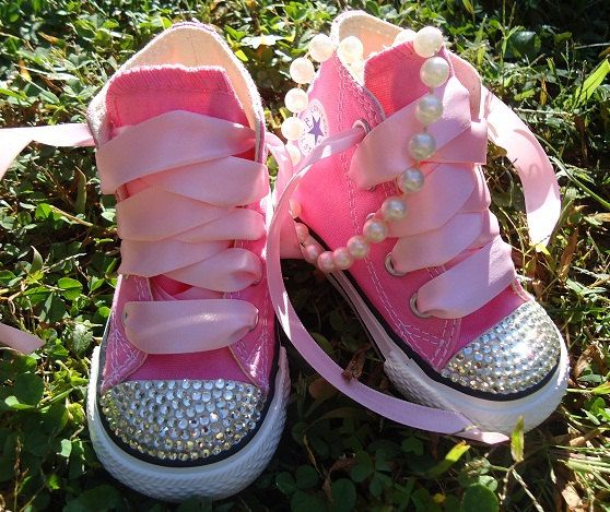 Too stinkin' cute! My baby girl will have a pair like this! Just add some pearls and a tutu...awesome photo shoot!