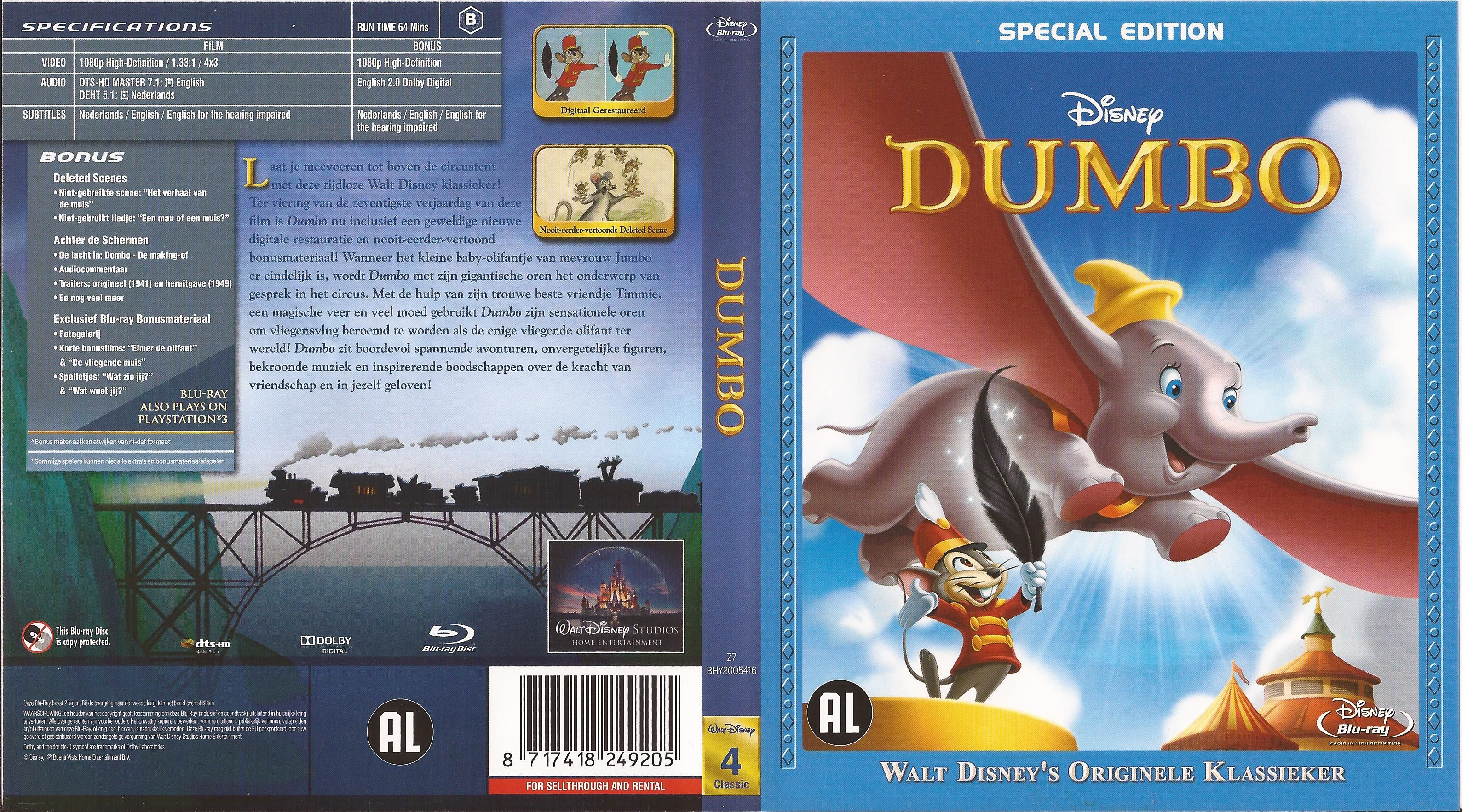 Ds 005 1941 Dumbo Special Edition Br Dumbo