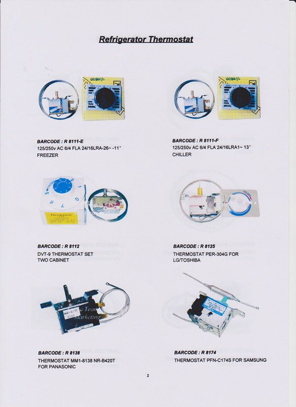 Pin by Guan Seng Heng on Defrost Thermostat & Thermal Fuse