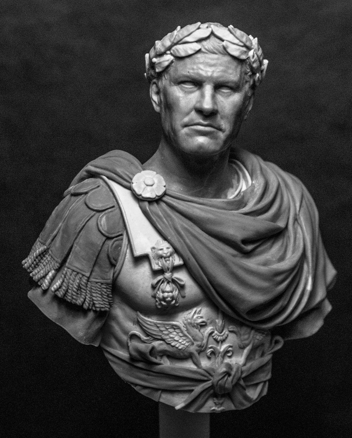 Gaius Julius Caesar By Jun Sik Ahn Putty Amp Paint