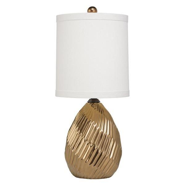 singlelight metallic brass ceramic table lamp overstock shopping great deals on
