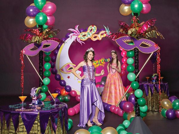 12ec6ced657 Mardi Gras Quinceanera theme