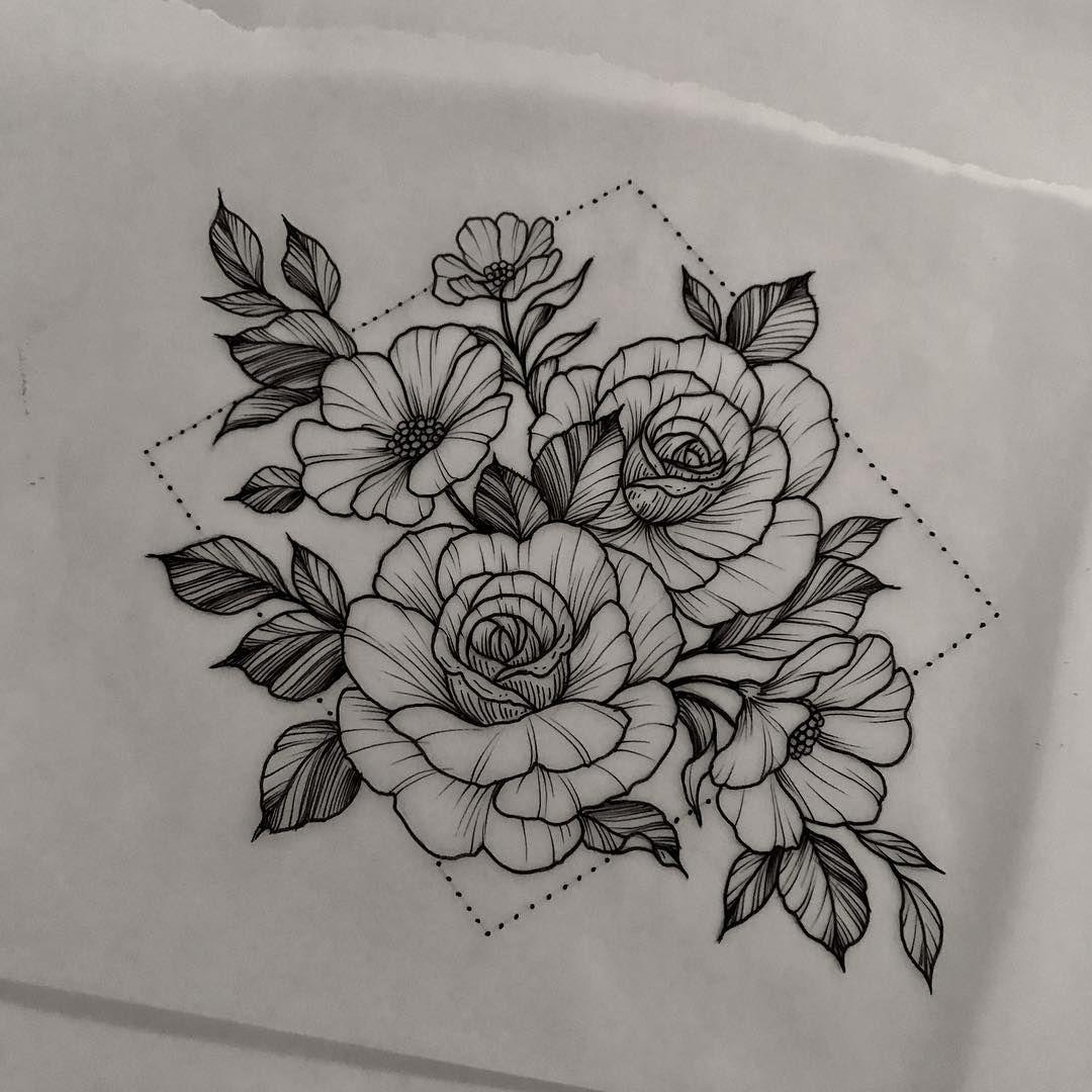 Polubienia 1 066 Komentarze 10 Christina Fleming Christinastattoos Na Instagramie For Tomorrow In 2021 Floral Tattoo Design Badass Tattoos Sleeve Tattoos