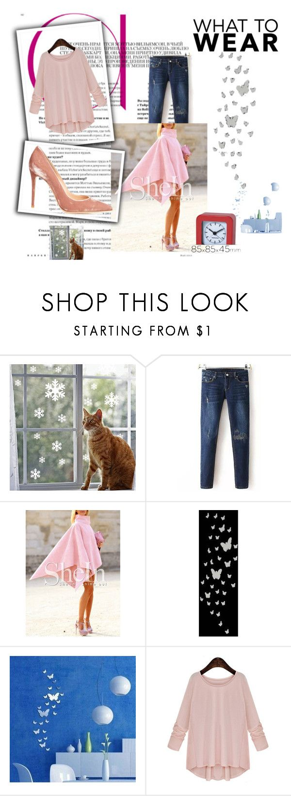 """""""Pinck"""" by lady-shadylady ❤ liked on Polyvore featuring beauty and Gianvito Rossi"""