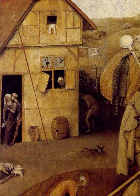 Hieronymus Bosch(Jeroen Anthoniszoon van Aken  1450-1516)「The Wayfarer」