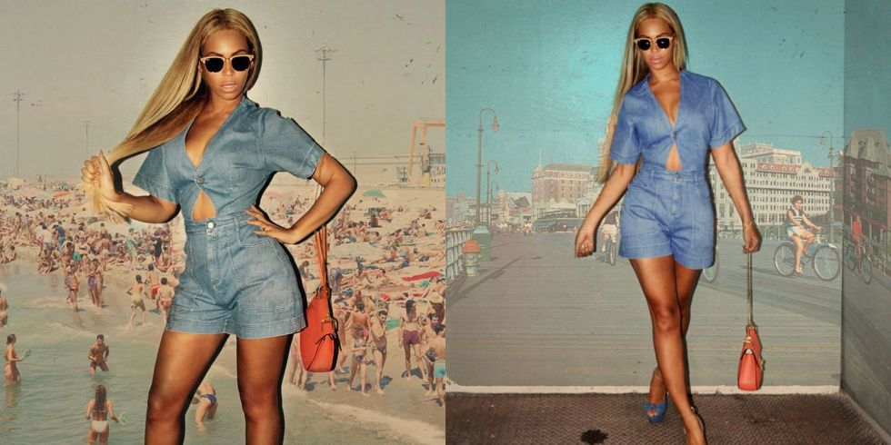 Beyoncé out in New York City. See all of the singer's best looks.