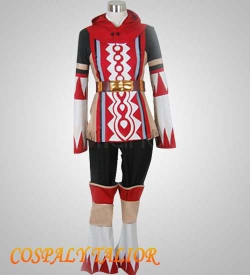 Best Final Fantasy XI 11 White Mage Cosplay Girls Red Costume (1198885) - US