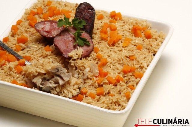 Arroz No Forno Com Sobras De Cozido Recept Arroz Rice Rijst