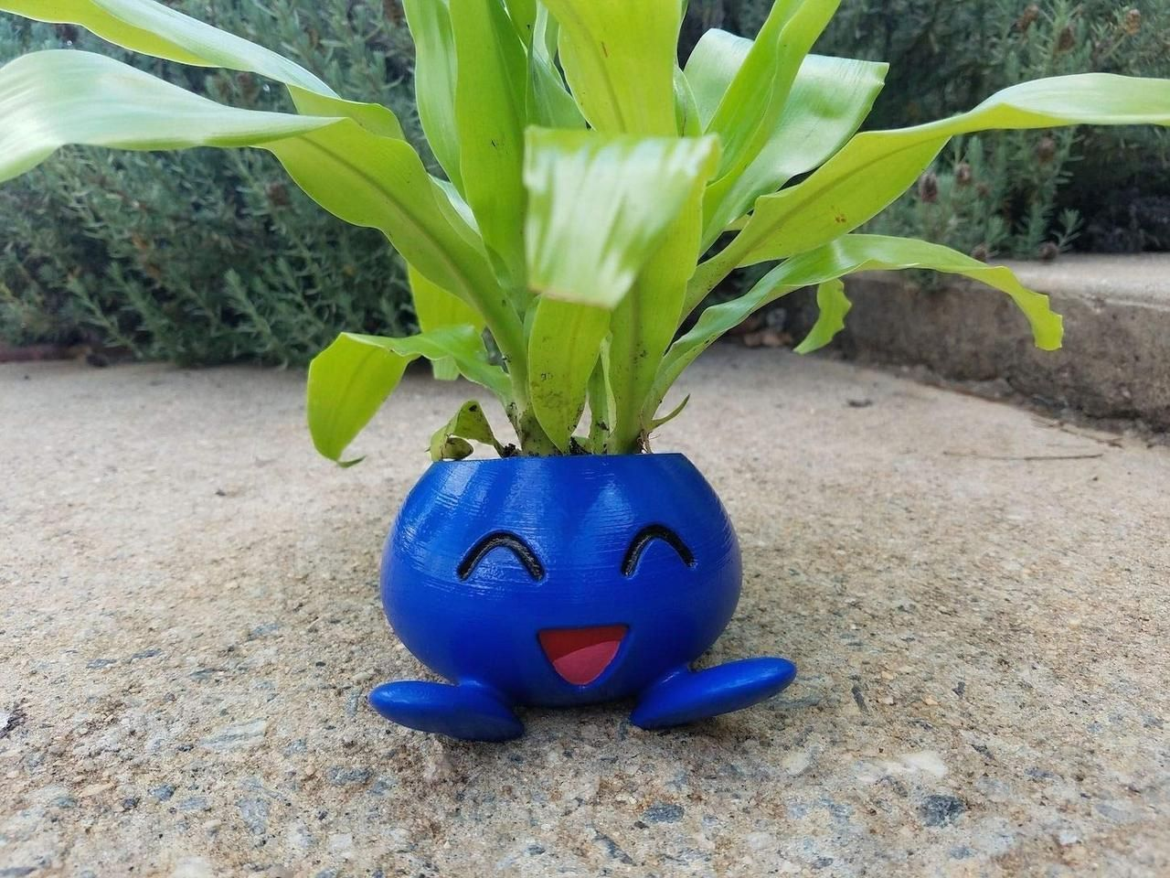 3D Printed Pokemon Planters made by oneshot3D -