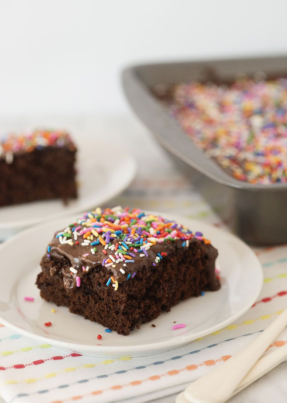 The simplest chocolate cake in the world may also be the best chocolate cake recipe I've ever tried. Here's how to make it.
