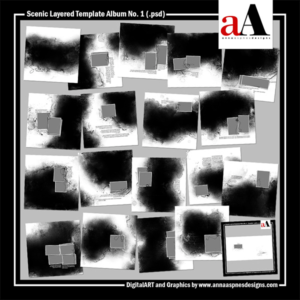 Scenic Layered Template Album No. 1 Released 21 August ...
