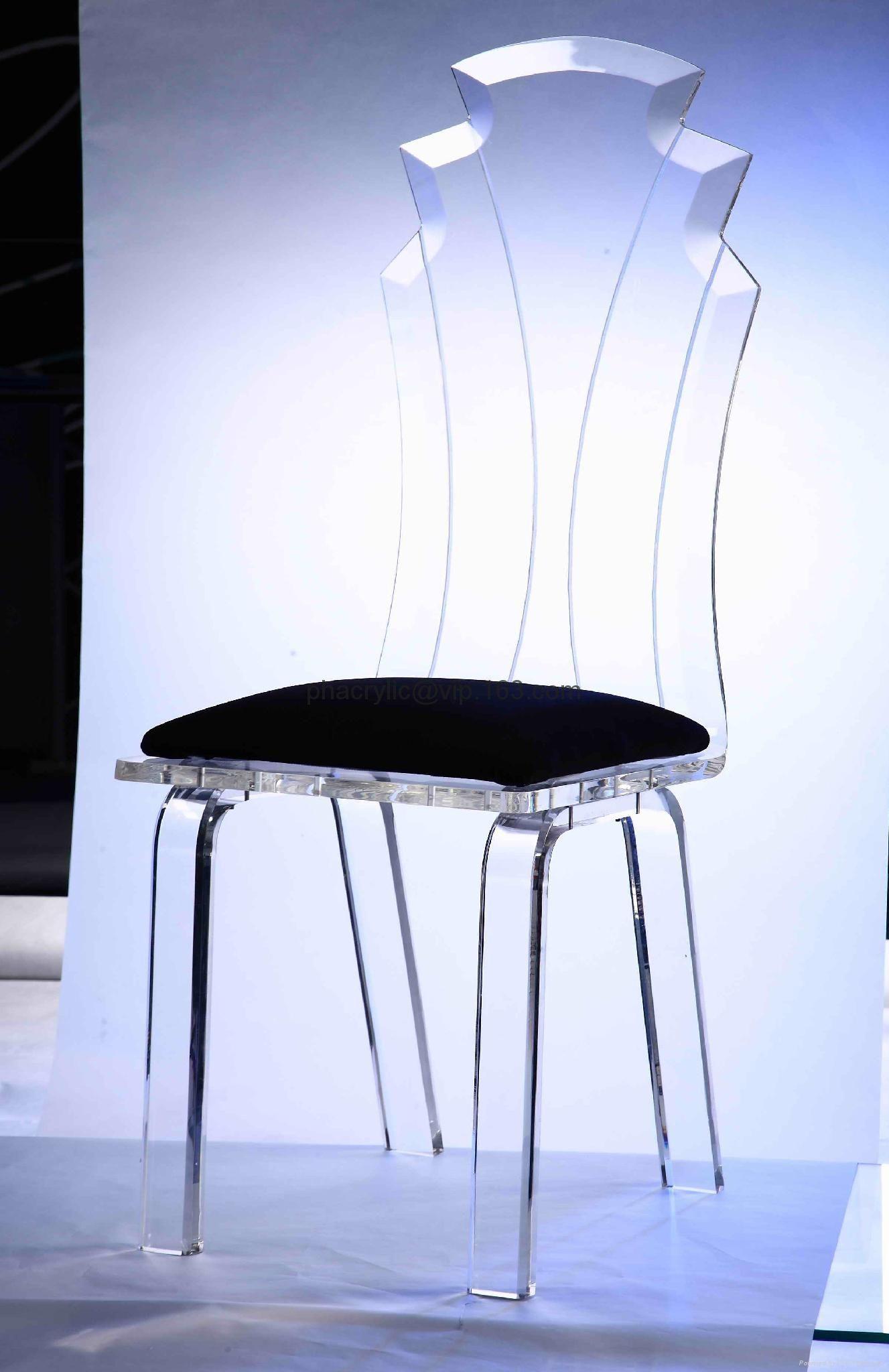 Kunststoff Plexiglas Möbel Stühle Stuhl Designer Klare K1FJlcT