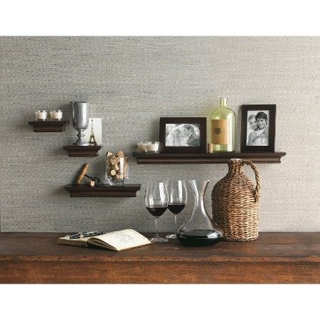 Target Floating Shelves Prepossessing Traditional Shelf And Frame Set Of 6  Threshold™  Target