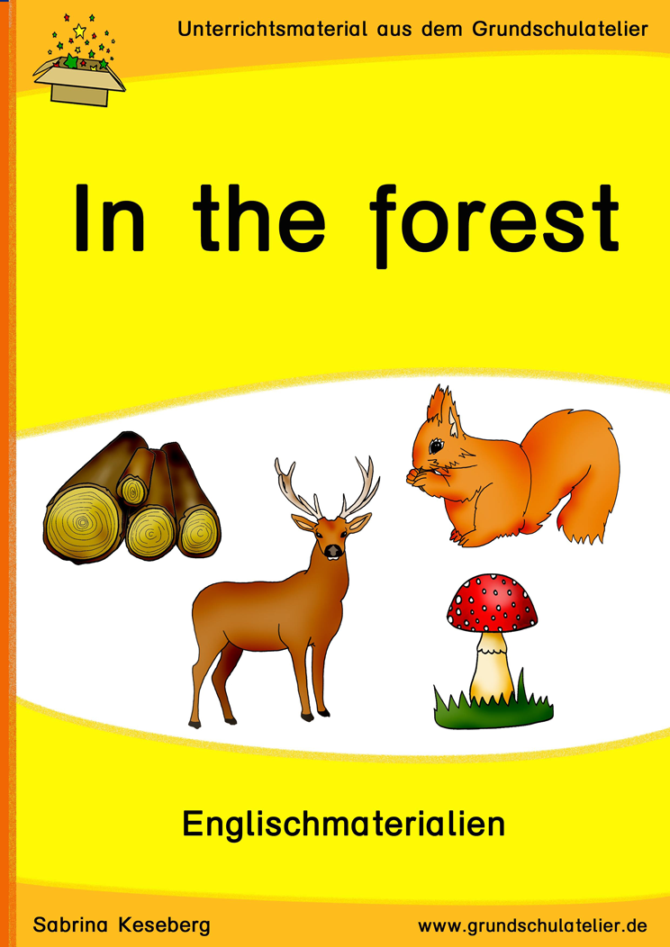 In The Forest Animals Nature Wald Unterrichtsmaterial