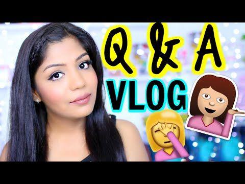 Q & A VLOG 2- Indian Inlaws, Success , Possessive Husband & More | SuperPrincessjo - YouTube