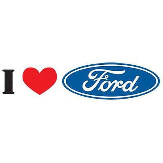 I Love My Ford Adult Unisex Quality Car Short Sleeve T Shirt
