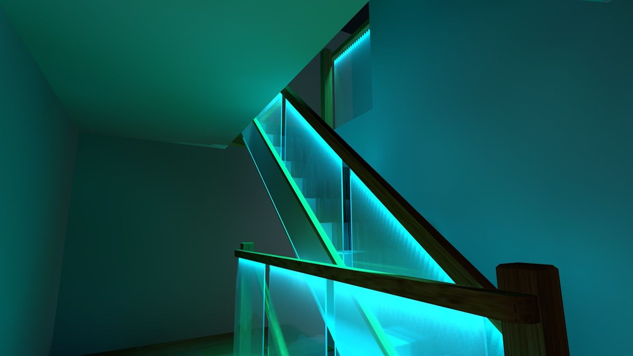 led stairway lighting. Hi, I Am Starting A LED Lighting Project. Going To Edge Light Frosted Glass Panels. The Lights Are Be Embedded In Recess The. Led Stairway T