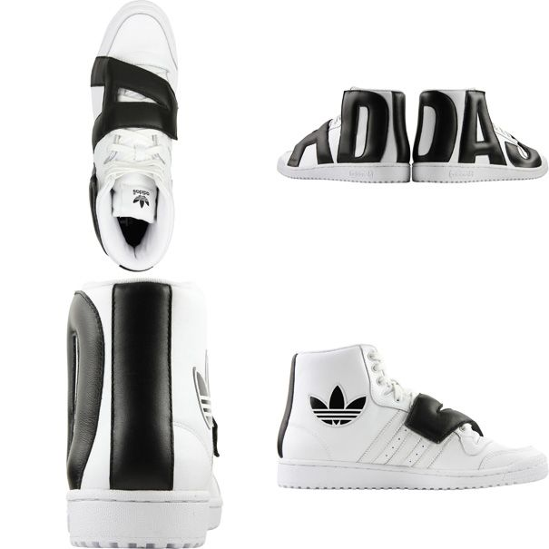 dd336210908 Men s Fashion and Style Aficionado  Lusting  Jeremy Scott for Adidas SS13  Letters Sneakers