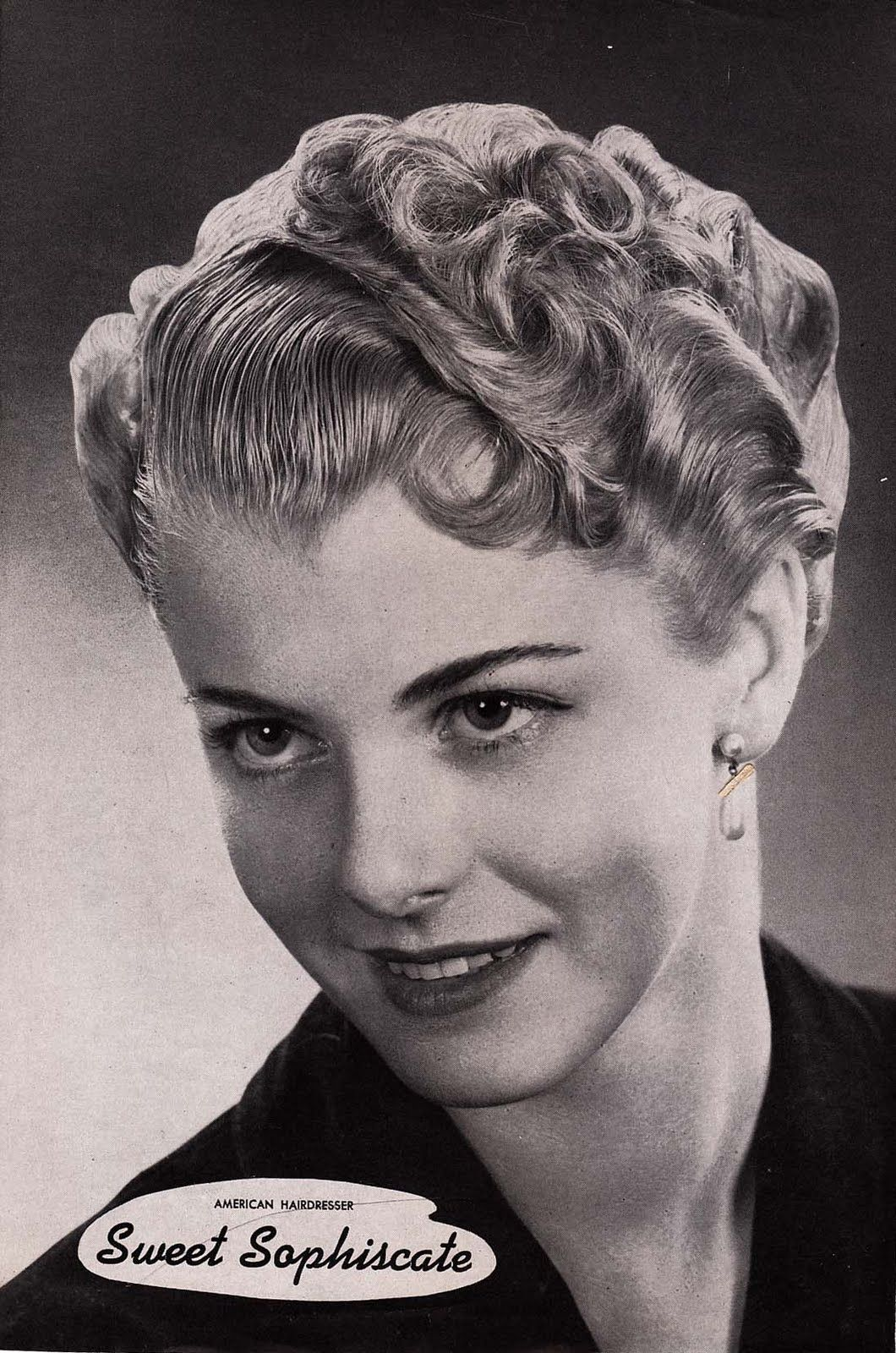 1940er jahre | hair styles in the 40s and 50s | short hair
