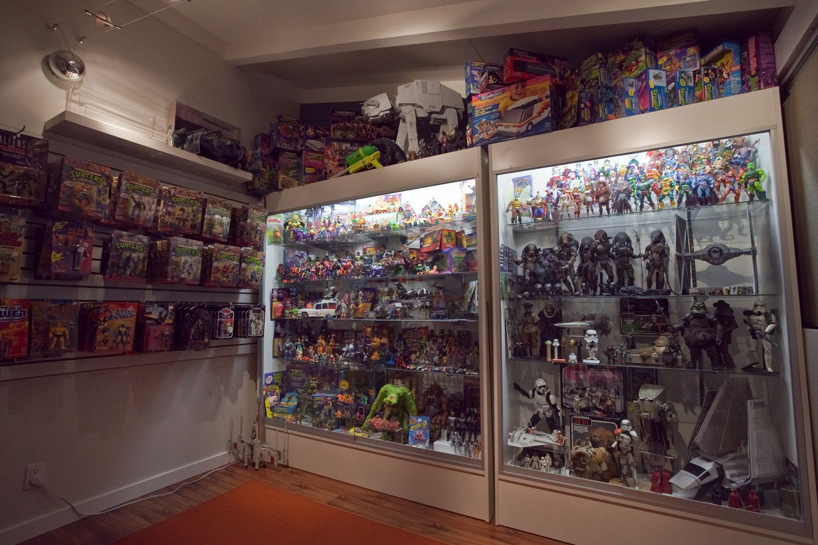 Popular Toys Collection Display