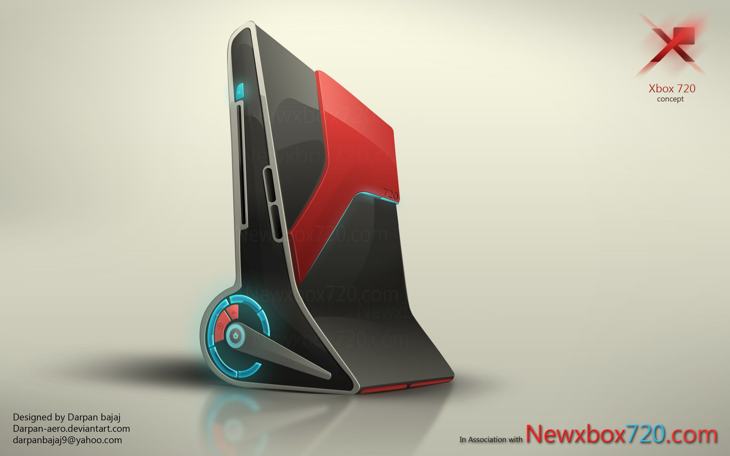 Console Design Next Xbox 720 Console And Controller Design Darpan Bajaj