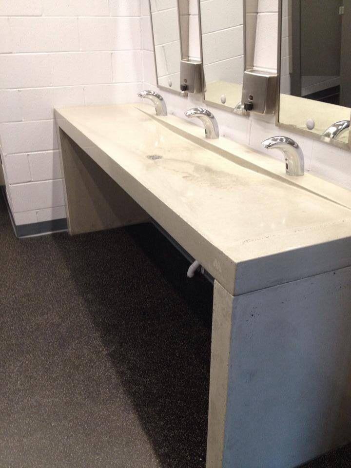 Vanit de b ton poli pour usage commerciale place du - Vanite de salle de bain usage a vendre ...