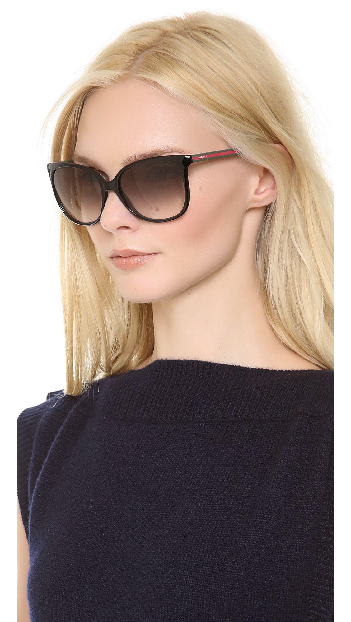 0f275407b91 Gucci Cat Eye Sunglasses