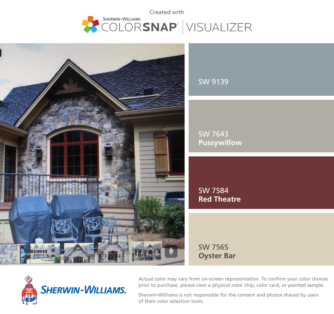 I Found These Colors With Colorsnap Visualizer For Iphone By Sherwin Williams Debonair Sw