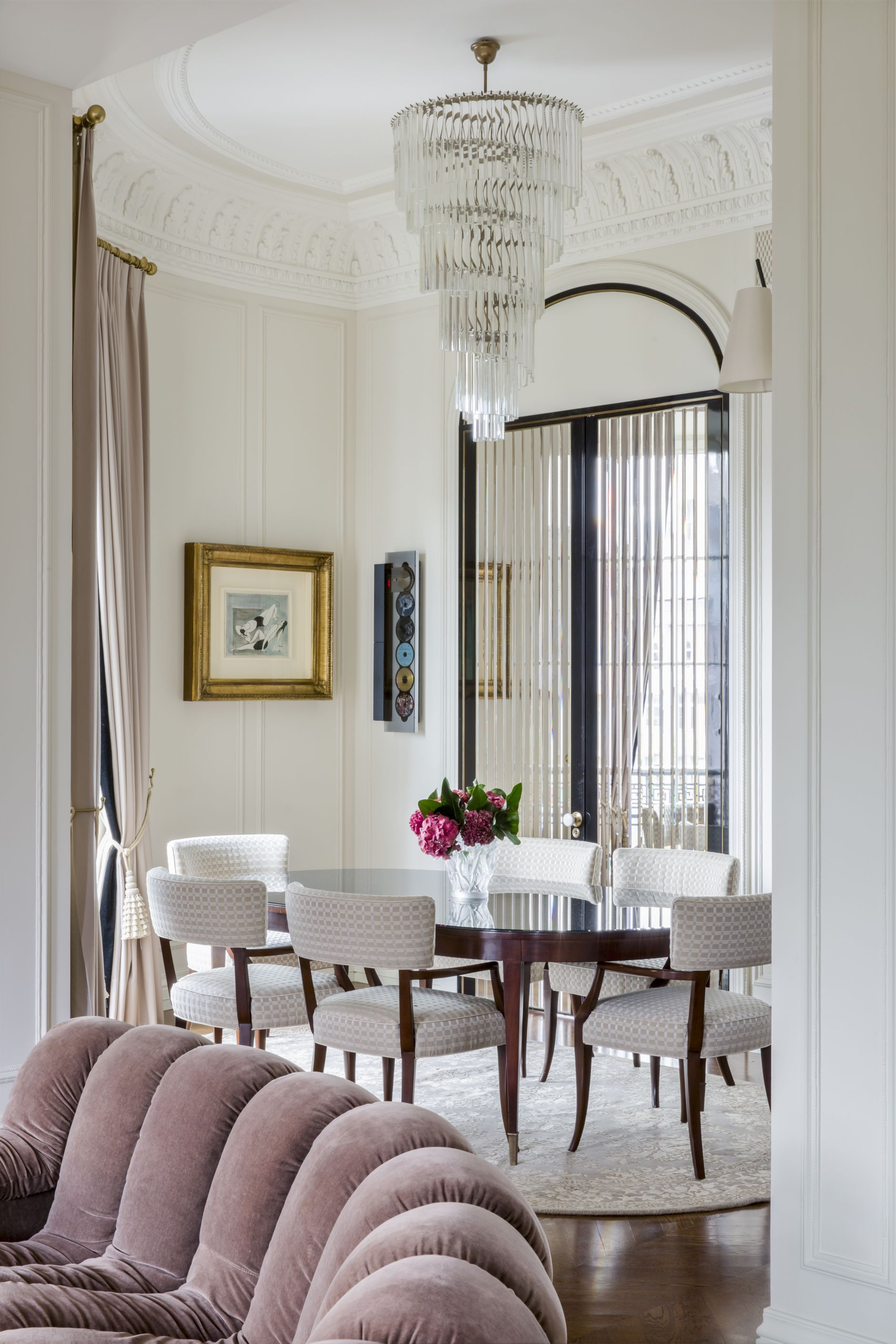 The Timeless Contemporary Art Deco Apartment In Moscow Art