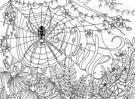 creative writing spider flower