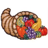 Craftways® Cornucopia Wall Hanging Plastic Canvas Kit