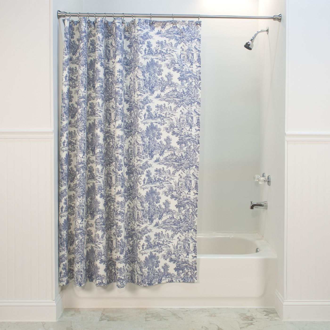Toile Shower Curtains   Installing A Brand New Shower Curtain Could  Function As The Coolest Solution To Cheer Up Your Toilet