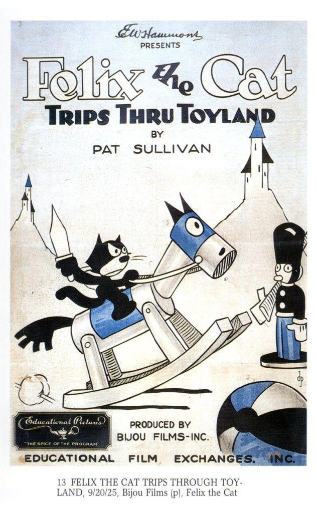 "Felix the Cat in ""Trips Thru Toyland"" (1925) ベティ・ブープ"