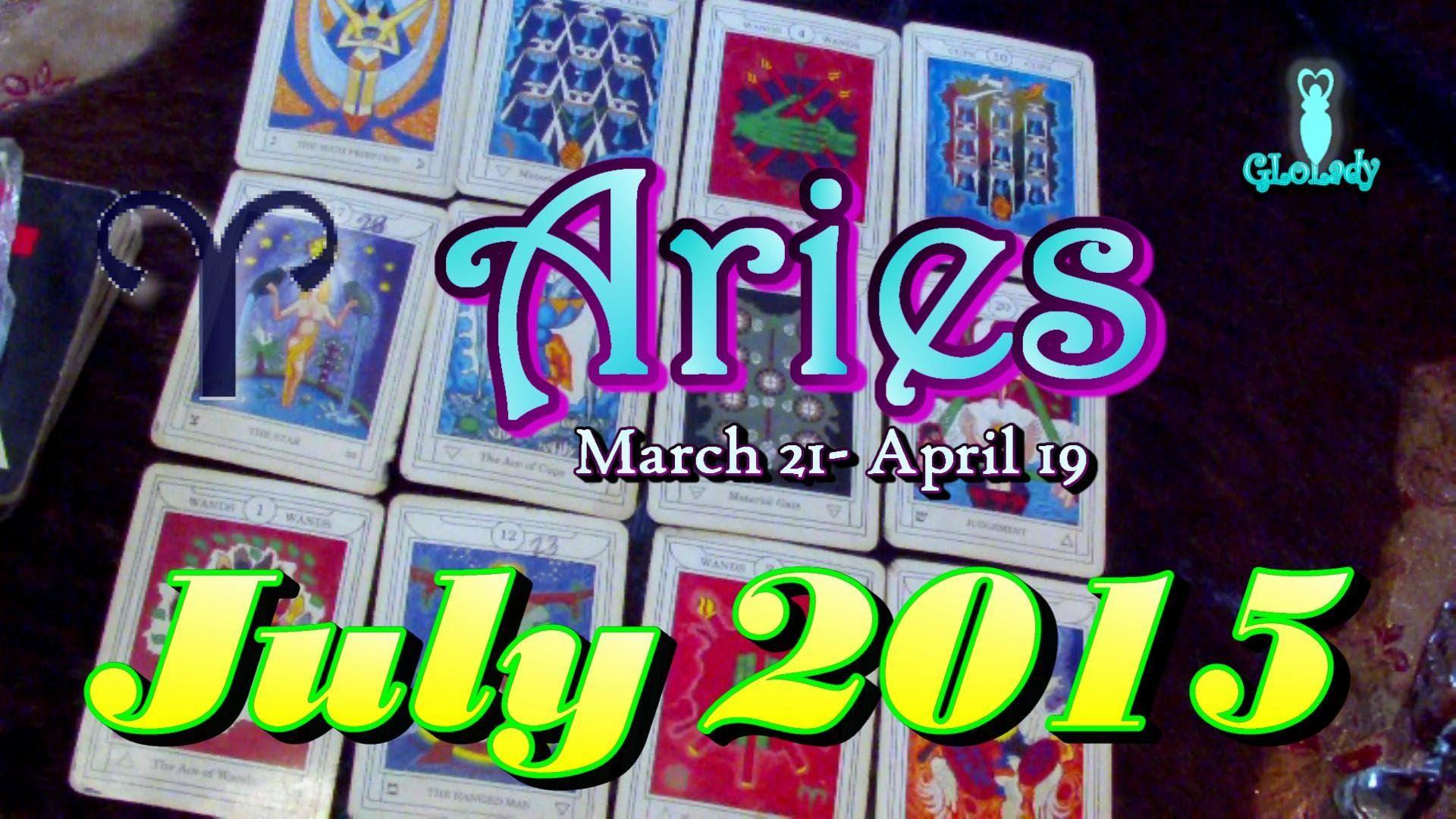 Aries July 2015 Intuitive Astrology & Tarot Reading