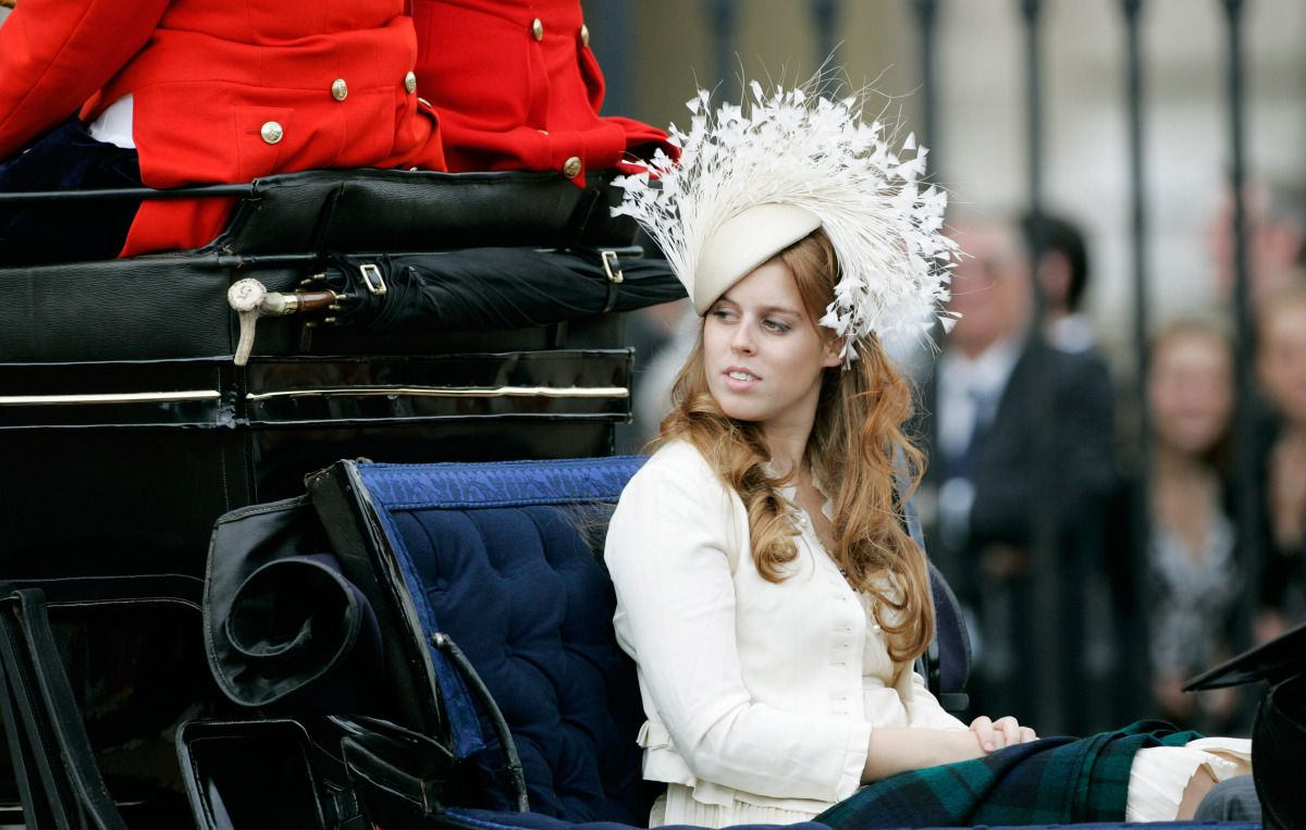 June 2007  Princess Beatrice Trooping The Colour
