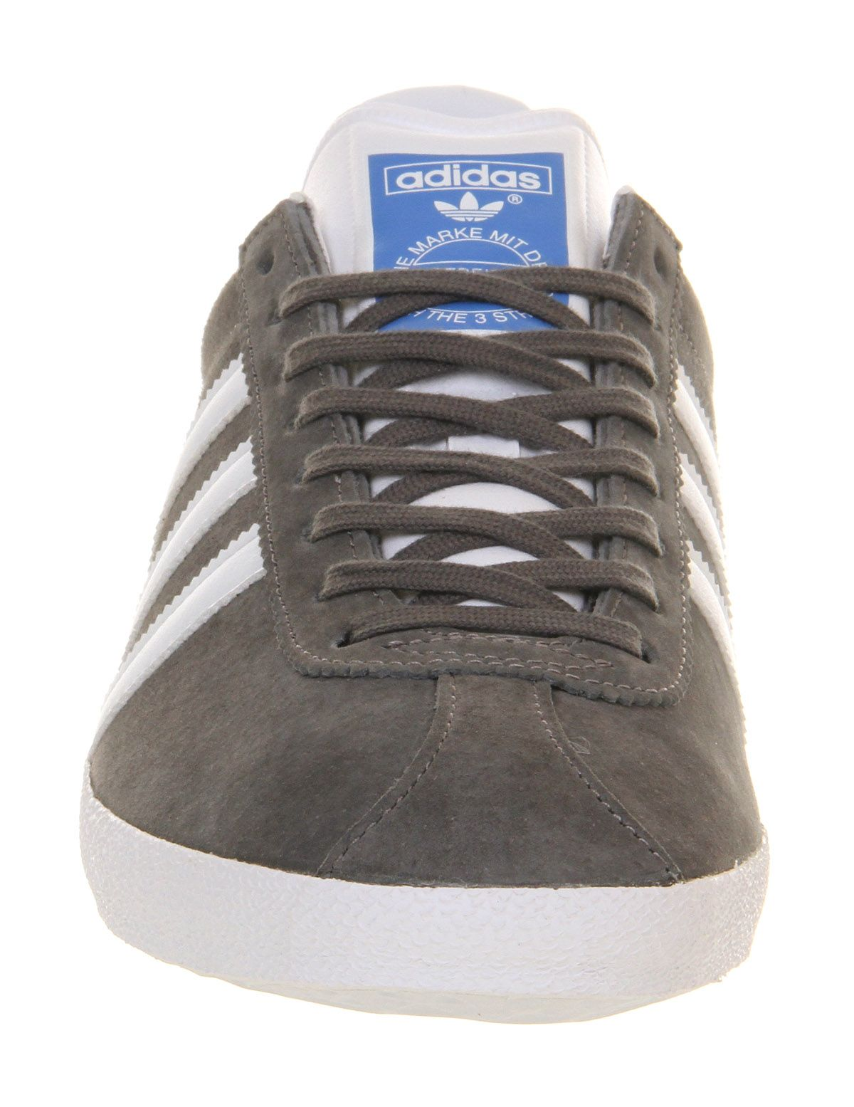 42ec389799f45 Adidas Gazelle Og Sharp Grey White - Unisex Sports | Adidas ...